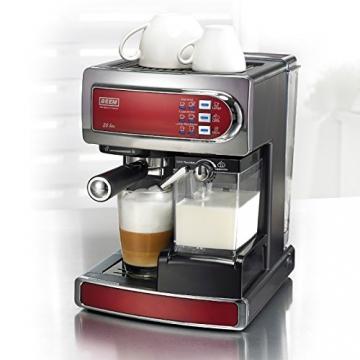 Beem I-joy Cafe Ultima Espresso Siebträgermaschine Milchbehälter