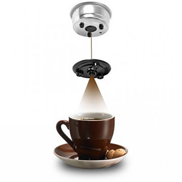Beem I-joy Cafe Ultima Espresso Siebträgermaschine Zubereitung