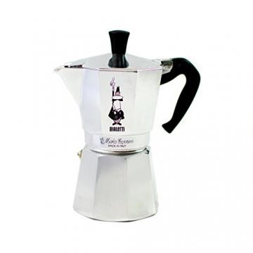 Bialetti Moka Express 6 Tassen Espressokocher -