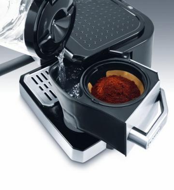 De'Longhi BCO 420 Kombi Kaffeemaschine Kaffeezubereitung
