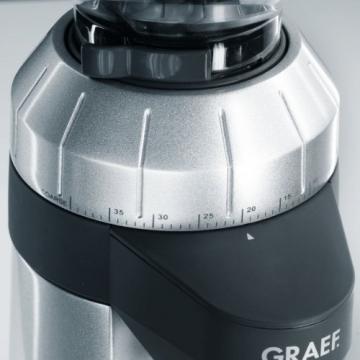 Graef Kaffeemühle CM 800 Mahlgrad