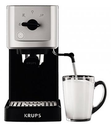 Krups XP 3440 Espresso Automat Milch aufschäumen