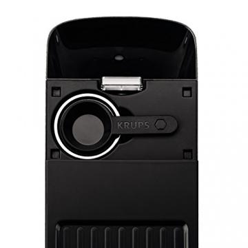 Krups XP 3440 Espresso Automat Sicht von oben inkl Siebträger