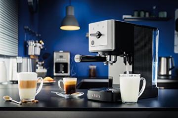 Krups XP 3440 Espresso Automat Während der Kaffee Zubereitung
