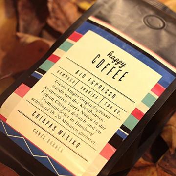 Happy Coffee Espresso Bio Bohnen Testbericht