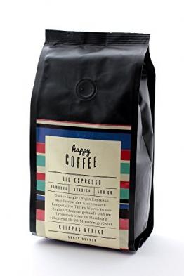 Happy Coffee Espresso Bio Bohnen
