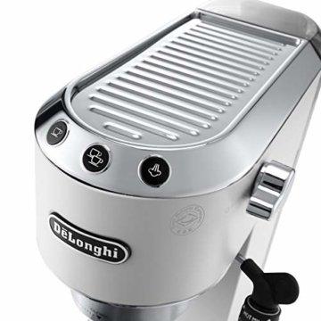 De'Longhi Dedica EC 685.W Espresso Siebträgermaschine -